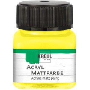 Akrylové barvy KREUL matné 20 ml
