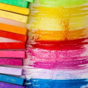 Křídy a suché pastely