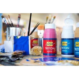 750 ml Akrylové barvy TRITON S SOLOGOYA EFEKT LESK